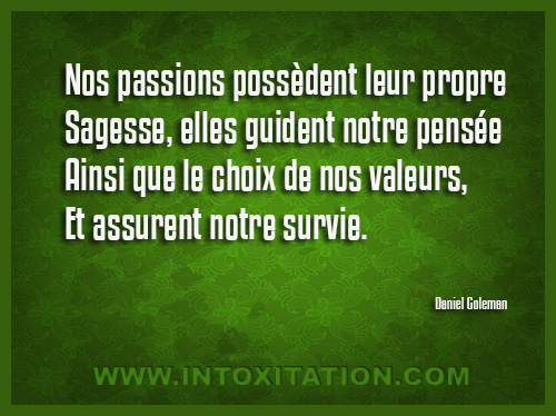 Citation Nos Passions Possedent Leur Propre Sages