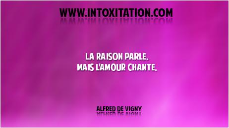Citation La Raison Parle Mais L Amour Chante
