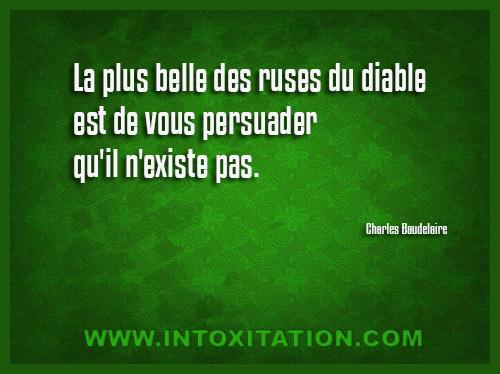 Citation La Plus Belle Des Ruses Du Diable Est De