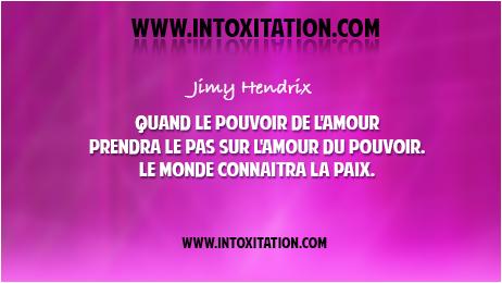Citation Quand Le Pouvoir De L Amour Prendra Le P
